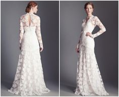 lace-sleeve-wedding-dress.jpg (634×518)