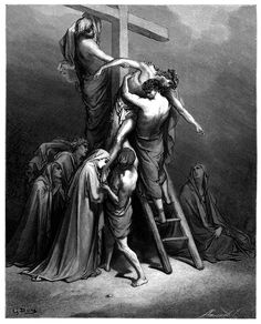57. The Descent from the Cross (Gustave Doré)