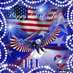 ⇒ imagens de happy of july. Happy July 4th Images, 4th Of July Gifs, Happy Fourth Of July, 4th Of July Fireworks, Holiday Gif, Holiday Images, Holiday Wishes, American Flag Wallpaper, July Quotes