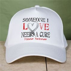 Needs a Cure Diabetes Awareness Hat