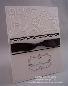 Four Frames, Teeny Tiny Wishes, Elegant Lines E F, Scallop Trim border punch