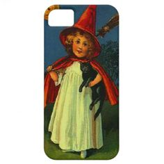 Witch  Black Cat iPhone 5 Covers