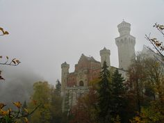 German Fairy Tale Castle in Bavaria, Daily Travel Pic, November 22nd ...