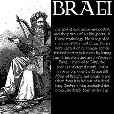 Bragi   Bragi - norse-mythology Photo