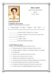 English Worksheet Temple Grandin Post Movie Activity M Temple