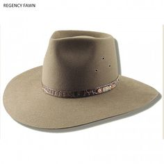 Colly is the abreviated name for Collarenabri, a small country town in Western N. Hat has raw edge. Hatband is crocodile print, genuine leather with bronze Akubra logo. Akubra Hats, Hat Styles, Raw Edge, Crocodile, Westerns, Bronze, Logo, Country, Leather