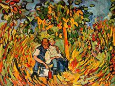 Maurice de Vlaminck, La partie de campagne on ArtStack #maurice-de-vlaminck #art