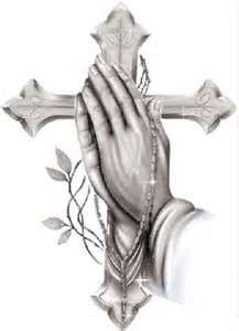 Praying hands with rosary and cross drawing art image Cross and praying hands with rosary background picture Praying hands coloring page . Rest In Peace Tattoos, Praying Hands With Rosary, Cross Drawing, Drawing Art, Art Amour, Jesus Photo, Cross Tattoo Designs, Cross Tattoos, Jesus Christus