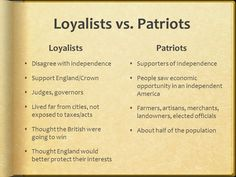 Image result for american revolution patriot and loyalist pictures American Revolution, Thoughts, Pictures, Image, Photos, Grimm, Ideas
