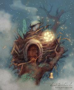 Fairy Nest by kirileonard