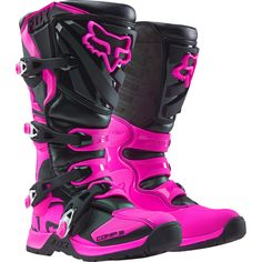 2018 Fox Racing Womens Comp 5 The Women s Comp 5 boot sports a unique  female-specific fit with less calf volume and a shorter overall height  making it the ... e3cf65435