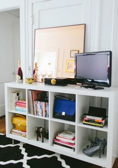5 Ways To Style The IKEA Expedit Shelving Unit
