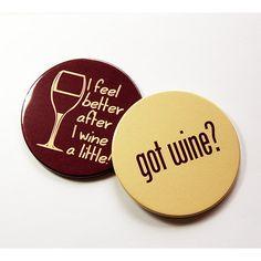 got wine wine coasters drink coasters wine accessories coasters wine 8 - Drink Coasters