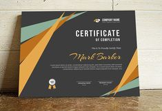 20 Best Certificate Design Templates: Awards Gifts & Diplomas for 2019 Certificate Layout, Certificate Design Template, Certificate Of Achievement Template, Printable Certificates, Award Certificates, Create Certificate, Stationery Templates, Print Templates, Design Templates