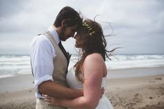 Elopement Wedding at Cape Lookout State Park on the Oregon Coast