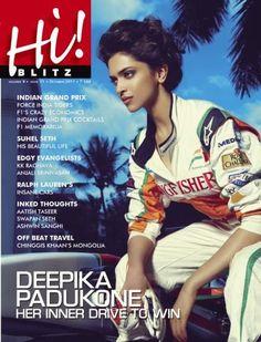 Deepika Padukone, Hi! BLITZ Magazine [India] (October 2011)