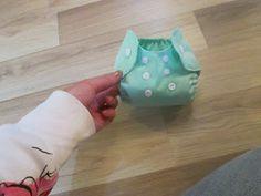 DIY newborn flip style cloth diaper cover + tutorial