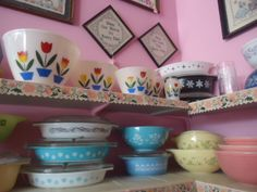 Fire King/Vintage Pyrex at Jazz'e Junque Inc. in Chicago ~ www.jazzejunque.com