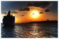 Sunset in İstanbul