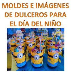 Moldes e imágenes de dulceros para el día del niño - http://materialeducativo.org/moldes-e-imagenes-de-dulceros-para-el-dia-del-nino/