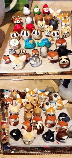 le animalé Fat-Fat totems. Shipped these lil cuties out on Friday. There are only a few left in stock for the holidays!