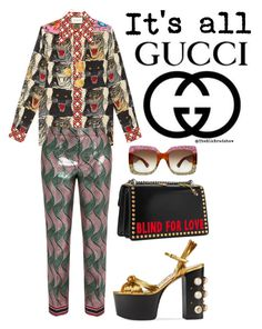 """""""It's all Gucci"""" by theblkbradshaw on Polyvore featuring Gucci and Alighieri"""