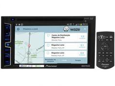 DVD Automotivo Pioneer AVH-X2880BT Tela 6,2 - Bluetooth 23 Watts RMS Entrada para Câmera de Ré