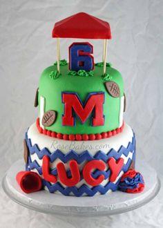 Ole Miss Rebels The Grove Cake