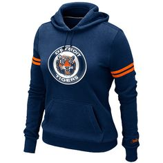 Detroit Tigers Women's Cooperstown Pullover Hoody by Nike - MLB.com Shop