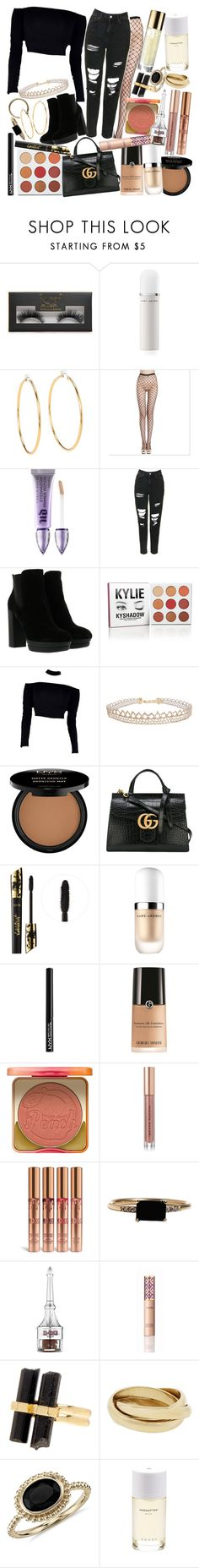 """Love is just another four letter word, but that never stopped nobody"" by thelyricsmatter ❤ liked on Polyvore featuring Boohoo, Marc Jacobs, Juicy Couture, Urban Decay, Topshop, Hogan, Humble Chic, NYX, Gucci and tarte"