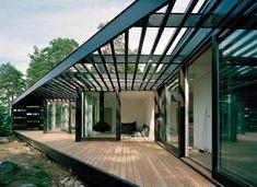 Une maison design sur l'archipel de Stockholm - Archiboom