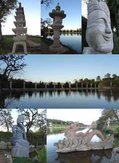 Buddha Eden - ainda no Lago