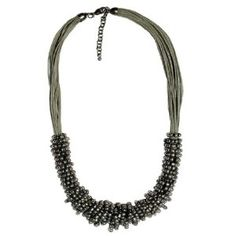 """JousJous Silver Waters Handmade Necklace, Princess Length, 19"""" Long (Jewelry)"""