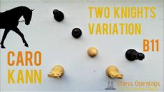 Two Knights Variation of the Caro-Kann ⎸Chess Openings Art Through The Ages, Chess Pieces, Knights, Theory, Youtube, Knight, Youtubers, Youtube Movies