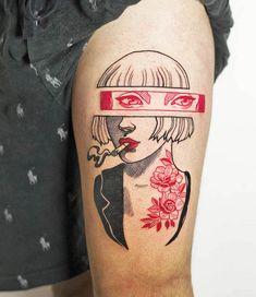 Retro Tattoos, Dope Tattoos, Mini Tattoos, Badass Tattoos, Body Art Tattoos, Small Tattoos, Gay Tattoo, Manga Tattoo, Tatoos
