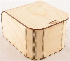 Curved Front Snap Fit Wood Box any size and configuration.  Finally, a way to economically make a custom box that is made in the USA!