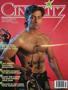 Salman Khan - Cinéblitz Magazine [India] (March 1991)