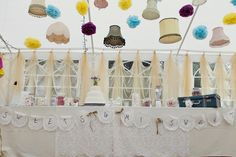couture ceilings at weddings  | Things are looking up! Overhead wedding decoration inspiration | angel ...