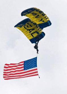 God Bless America and God Bless Our Navy SEALS