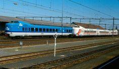 KLM and Martinair trains