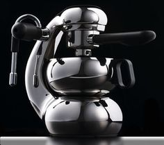 """OTTO is a Stove Top Espresso Maker, combining Giordano Robbiati' classic Italian style of the Atomic with unprecedented functionality. Meticulously engineered and crafted, """"the little guy"""" offers inspirational ergonomics and delivers superb coffee. Espresso Shot, Best Espresso, Espresso Coffee, Coffee Coffee, Coffee Brewers, Cappuccino Maker, Espresso Maker, Coffee Maker, Cafetiere Design"""