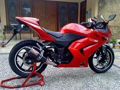 kawasaki ninja . My first moto ever! I had a blast on the Ninja!!