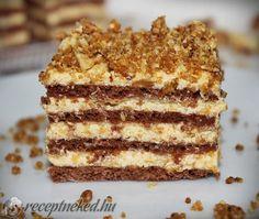 A legjobb Karamellás szelet recept fotóval egyenesen a Receptneked.hu gyűjteményéből. Küldte: KGizi