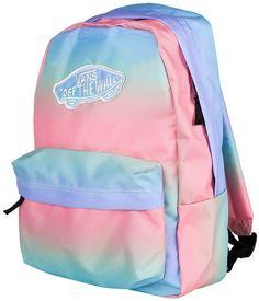 27ba261a84 Vans Realm - Zaino Donna, Blu (capri Breeze Washed), Taglia unica:  Amazon.it: Valigeria. Back To School OutfitsSchool BackpacksStrawberriesPastel  ...