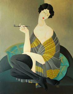Femme Fatale by Urszula Tekieli