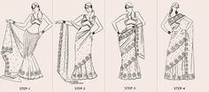 How to saree