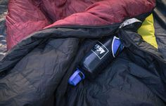 22 Camping Hacks and Tips from REI Experts - REI Co-op Journal - Camp Hack Some people were born with cold feet. To cope while camping, fill your Nalgene up wit - Camping Hacks, Camping Guide, Camping Essentials, Tent Camping, Campsite, Camping Gear, Outdoor Camping, Backpacking, Camping Equipment