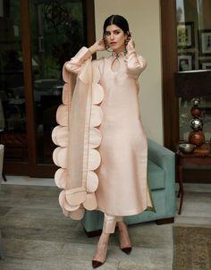 Shirt & Dupatta Cotton Net Multi colour hand embroidery Dry clean only Trouser Sold Separately Pakistani Fashion Party Wear, Pakistani Dresses Casual, Indian Gowns Dresses, Pakistani Dress Design, Indian Fashion, Indian Designer Outfits, Indian Outfits, Designer Dresses, Designer Kurtis