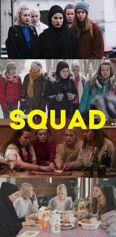 #SKAM Day 10 Characters that you'd like to be part of your squad always <br>http://pic.twitter.com/hwaQt83VTP