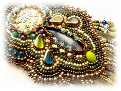The dream of happiness by budaikata on Etsy, crunchy beaded goodness!